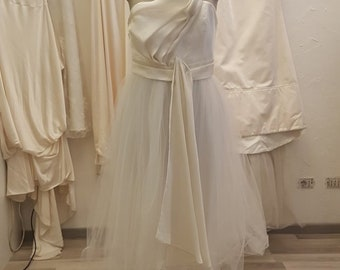 Vintage 80 lace wedding dress