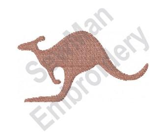 Kangaroo - Machine Embroidery Design