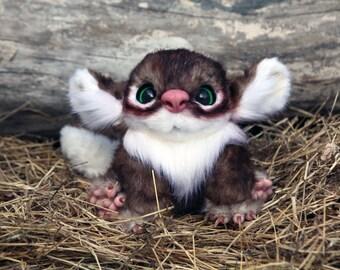 Cute Monster Plush - OOAK doll