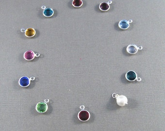 Add a birthstone to your locket.  Add on, Personalize,customized,Birthstone Locket,Birthstone Necklace,Birthstone,