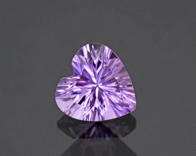 Brilliant Heart Ametrine Quartz Gemstone from Bolivia 2.47 cts.