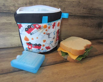 Bag for sandwich, snack, reusable bag, lunch bag, reusable, waterproof pouch, zero waste, procare, eco-friendly