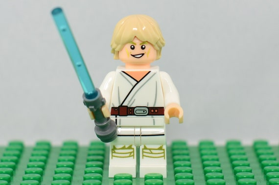 Lego Man Young Skywalker
