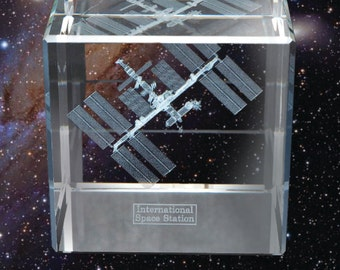 International Space Station 3D Sculpture