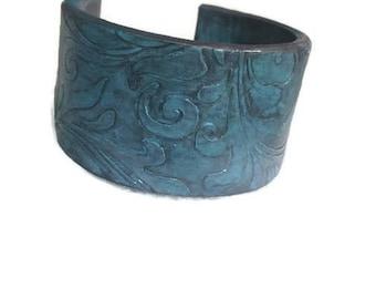 Polymer clay cuff