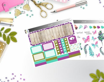 notes page - Juni  (Happy Planner Stickers)