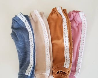 Lace Joggers for Wellie Wisher Dolls by The Glam - Available in 6 colors