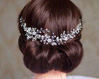 Bridal hair piece Wedding headpiece Bridal Headpiece Wedding hair piece Bridal hair pieces Bridal hair vine Wedding hair pieces Hair vine