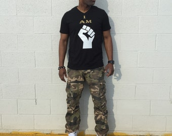 I AM Black Power Tee