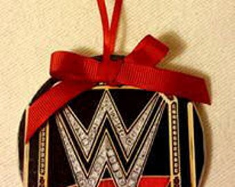 WWE Personalized Christmas Ornament 3x3