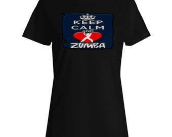 Keep Calm And Love Zombies Ladies T-shirt aa152f