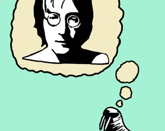"John Lennon ""The Walrus"" Art Print"