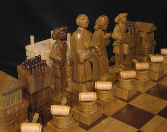 The Lawyer's Chess Set (Legal Chess)  for MR