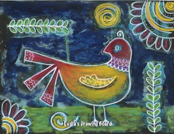 Bird, Birds, Bird Art, Nature Art Print, Bird Art Print, Bird Artwork, Bird Wall Art, Bird Decor, Partridge, Nature Art, Nature Artwork