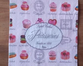 Napkin pastries
