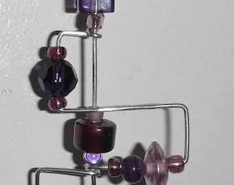 Purple Razzledazzle Pendant