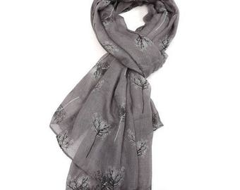 Beautiful Delicate Tree Scarf
