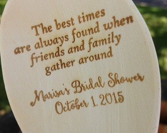 Engraved Wood Spoon, Personalized spoon, wooden spoon, wedding favor, shower favor, event prize, chilli cook off, engraved spoon, prize