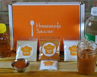 Homemade Siracha Sauce Kit