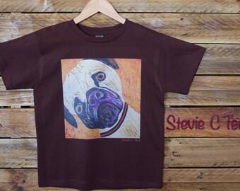 Pug Puppy Kids T Shirt
