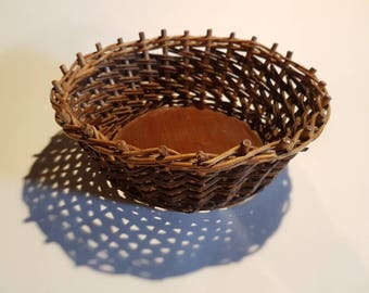 Vintage French Bread Basket