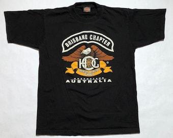 Vintage Harley Davidson Owners Australia Brisbane Chapter T-Shirt