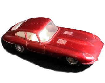 Vintage RARE 1967 Jaguar E Type Exotic Sports Car Matchbox Model No 32 Leseny England