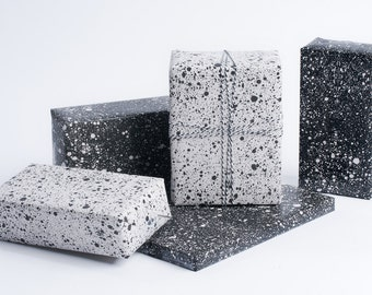 Marble Speckled Wrapping Paper