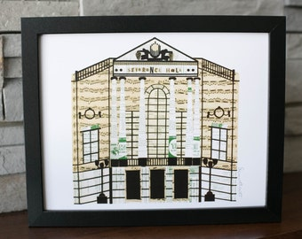 Severance Hall Cleveland Orchestra Print
