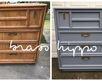 Custom Furniture Painting - Northern California - Sacramento Area Upcycled Dressers Desks