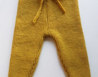 Babies/Children's knitted lambswool Pants/leggings/trousers/wool leggings/pink/blue/grayl/warm/thick/trousers