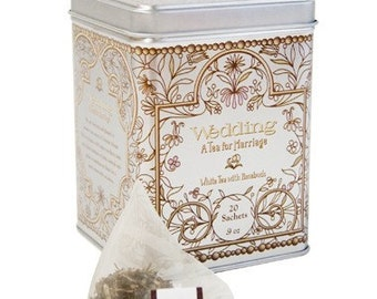 Wedding Tea in Elegant Tin - 20 sachets