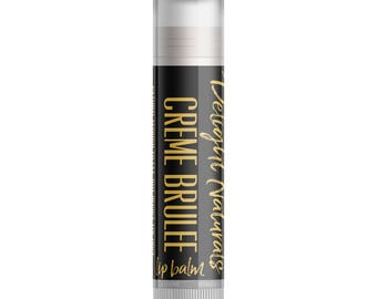 Creme Brulee Lip Balm - Single Tube