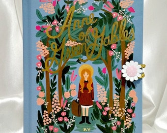 Anne of Green Gables - Book clutch, book purse, upcycled book, L M Montgomery