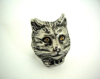 Devil Kitty Ring