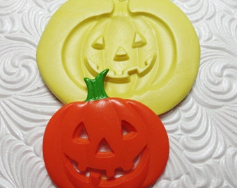 PUMPKIN Silicone Rubber Push Mold for Resin Wax Fondant Clay Ice 1601