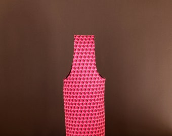 Wine Bag - Wine Bottle Tote - Wine Carrier - Wine Tote Bag - Wine Lover Gift - Padded Wine Bag - Fabric Wine Carrier - Wine Birthday Gift