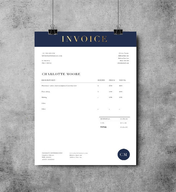 Printable Invoice Template MS Word Receipt Template - Invoice template for microsoft word online wig store
