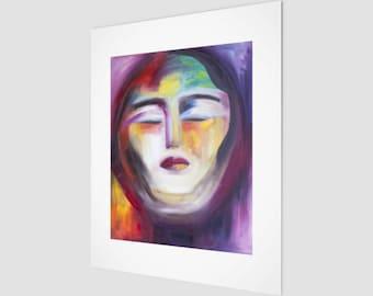 Warrior Goddess Fine Art Print | Goddess Hanging Wall Art | Eccentric Home Accents