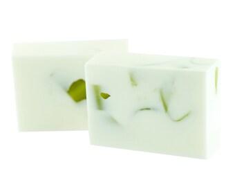 Rosemary Mint Bar Soap--Rosemary Mint Bath Bar--Rosemary Mint Soap