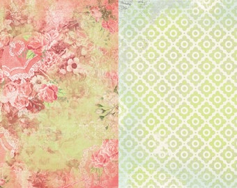"""BoBunny Collection """"Soiree"""" Set of 12 Sheets"""