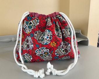 Skull Candy Medium Project Bag