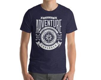 Great Adventure Nautical Tee Short-Sleeve Unisex T-Shirt