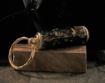 Secret compartment key ring
