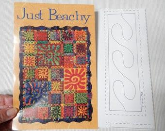Just Beachy, Fusible Applique Quilt Pattern