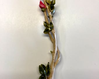 Rosebud Love Spoon