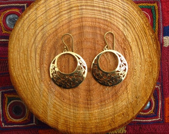 Earrings - disc
