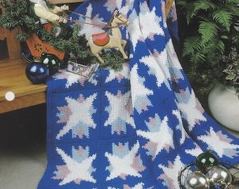 Starry Night, Annie's Attic Crochet Quilt & Afghan Pattern Club Leaflet QAC353-02