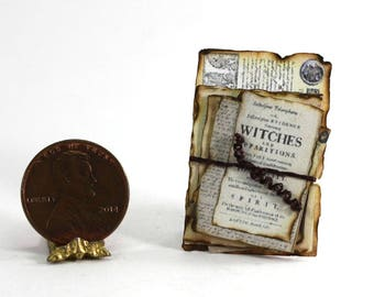 Artisan Witches Aged Papers for Halloween
