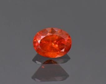 FLASH SALE! Fantastic Large Rare Orange Triplite Gemstone from Pakistan 2.41 cts.